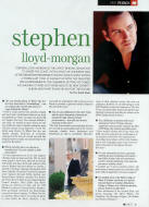 Stephen Lloyd-Morgan - Tenor
