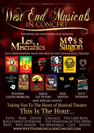 WEST END MUSICALS IN CONCERT AND THE BEST OF BROADWAY